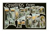 Greetings from Niagara Falls, New York Art