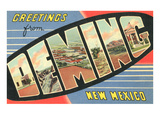 Greetings from Deming, New Mexico Posters