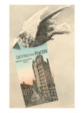Greetings from New York City, Carrier Pigeon Prints