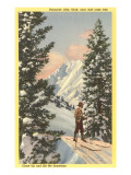 Alta Ski Resort, Salt Lake City, Utah Posters