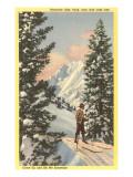 Estación de esquí Alta Ski en Salt Lake City, Utah Pósters