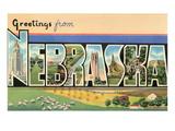 Grüße aus Nebraska Kunstdrucke