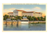 Art Gallery, Schuykill River, Philadelphia, Pennsylvania Prints