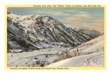 Ski-Urlaubsort Alta, Salt Lake City, Utah Kunst