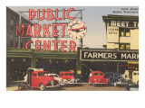 Public Market, Seattle, Washington Prints