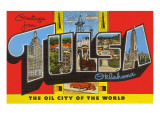Greetings from Tulsa, Oklahoma Prints