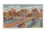 Sixth Street Bridge, Pittsburgh, Pennsylvania Art