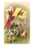 Don't Tread on Me Flag, Battle Scene Print
