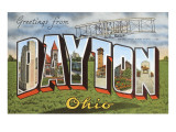 Greetings from Dayton, Ohio Art