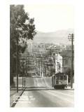 Cable Cars, Fillmore Street, San Francisco, California Kunstdrucke