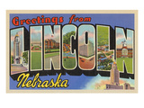 Greetings from Lincoln, Nebraska Prints