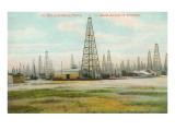 Oil Field, Humble, Texas Posters