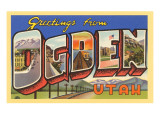 Greetings from Ogden, Texas Prints