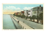 East Battery, Charleston, South Carolina  Poster