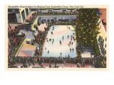Skating Rink, Rockefeller Center,  New York City Art