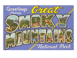 Greetings from Smoky Mountains Art