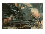 Steel Mill, Brackenridge, Pittsburgh, Pennsylvania Prints