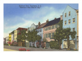 Rainbow Row, Charleston, South Carolina Prints
