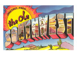 Greetings from the Ole Southwest Prints