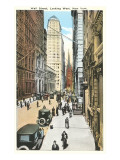 Wall Street, New York City Poster
