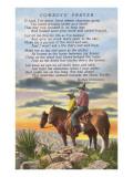 Cowboys' Prayer Posters