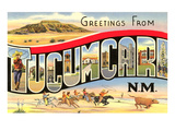 Greetings from Tucumcari, New Mexico Prints