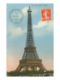 Eiffel Tower, Paris, France Prints