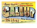 Greetings from Gallup, New Mexico Posters