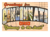 Greetings from Cincinnati, Ohio Prints