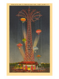 Parachute Jump Ride, Coney Island, New York City Prints