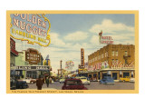 Fremont Street, Las Vegas, Nevada Prints