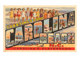 Greetings from Carolina Beach, North Carolina Posters