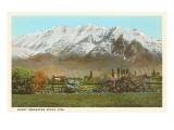 Mt. Timpanogos, Provo, Utah Posters