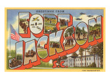 Greetings from Ft. Jackson, South Carolina Prints