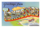 Greetings from Tennessee Prints