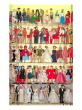 Barbie Doll Collection, Retro Kunstdrucke