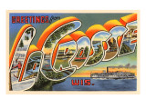 Greetings from La Crosse, Wisconsin Posters