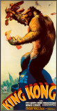 King Kong Framed Canvas Print