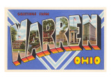 Greetings from Warren, Ohio Prints