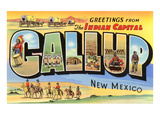 Greetings from Gallup, New Mexico Poster