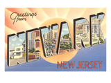 Greetings from Newark, New Jersey Art