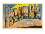 Greetings from Tacoma, Washington Prints