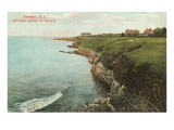Cliff Walk, Breakers, Newport, Rhode Island Posters