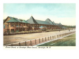Race Track, Saratoga, New York Prints