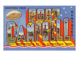 Greetings from Fort Campbell, Kentucky Prints