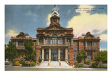 Courthouse, Fort Worth, Texas Poster