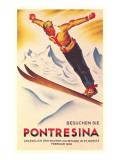 Ski Jumping Poster Reprodukcje
