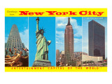 Greetings from New York City Poster