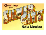 Greetings from Silver City, New Mexico Poster