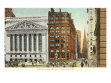 New York Stock Exchange, Wall Street, New York City Prints